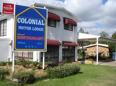 Colonial Motor Lodge - Accommodation Mooloolaba