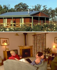 Twin Trees Country Cottages - Accommodation Mooloolaba