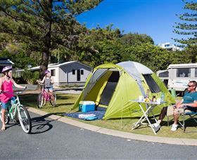 Ocean Beach Tourist Park - Accommodation Mooloolaba