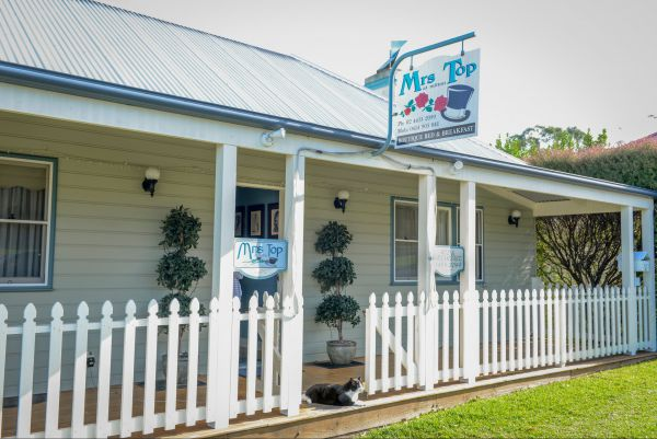 Mrs Top at Milton Bed and Breakfast - Accommodation Mooloolaba