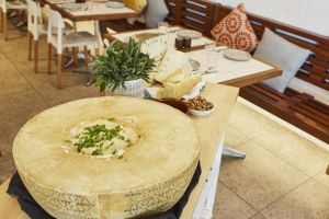 Flaming Cheese Wheel and Wine Experience Broadway - Accommodation Mooloolaba
