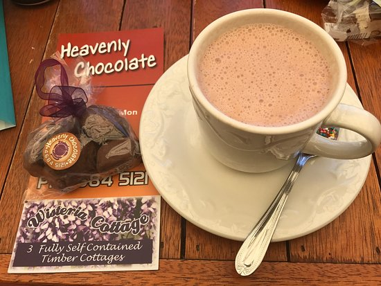 Stanthorpe's Heavenly Chocolate at Wisteria Cottage - Accommodation Mooloolaba