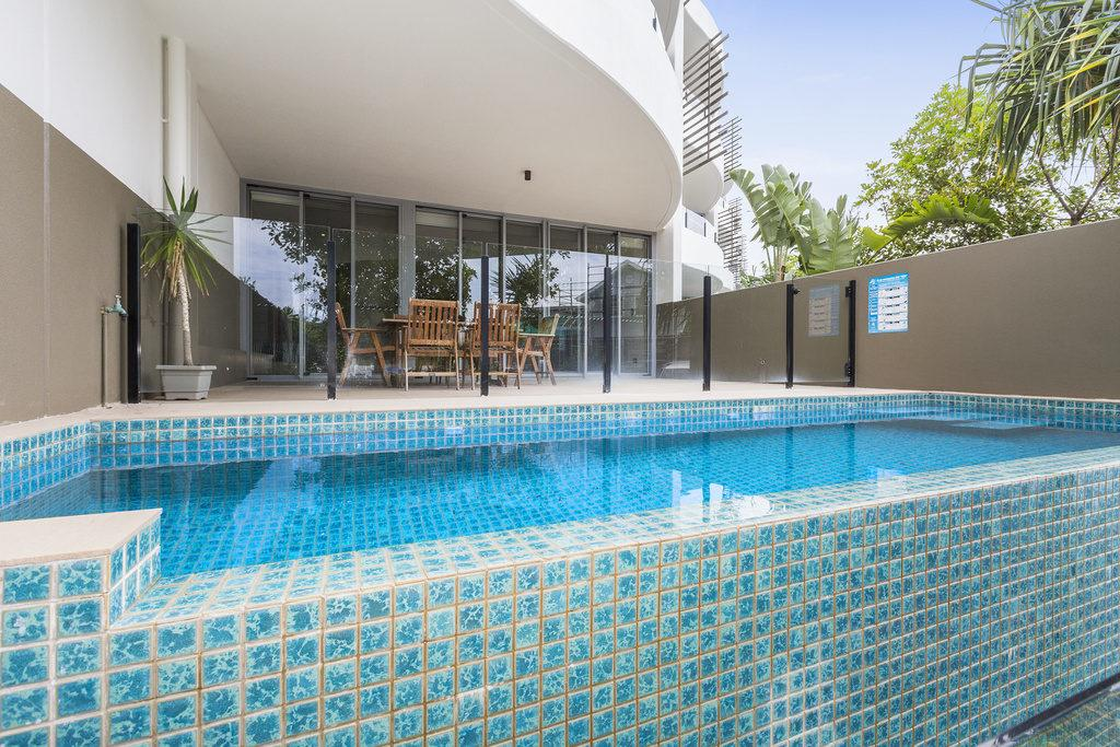 COTTON BEACH 8 ESCAPE WITH PRIVATE PLUNGE POOL - Accommodation Mooloolaba
