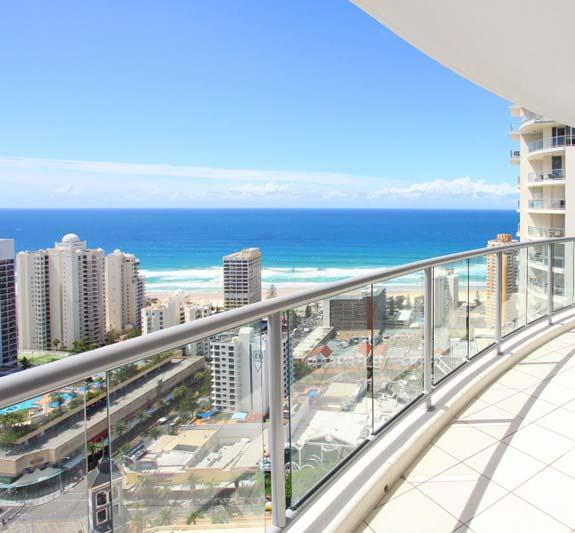 Beach Stay - Ocean  Riverview resort Chevron Renaissance central Surfers Paradise - Accommodation Mooloolaba